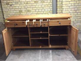 IKEA Beautiful Wooden Sideboard