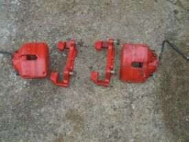 312mm front calipers and carriers