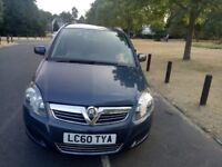 2010 Vauxhall Zafira 1.7 TD ecoFLEX 16v Exclusiv 5dr Fully HPI Clear Service History @07896137985@