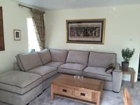 Beautiful solid oak coffee table, Tv cupboard & IKEA cabinet for sale excellent condition