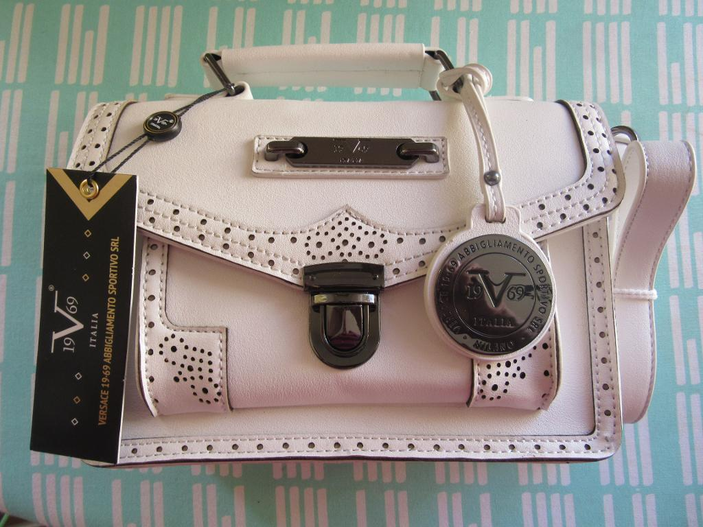 Bnwt White Versace 19 69 Malia Bag Dustbag Authentic