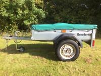 Brenderup 1150 S Trailer Camping Carboot Tip Trailor DIY 600KG 5x3