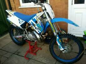 ANY CASH OR SWAP CONSIDERD Tm racing 250 en swap/sale road legal not yz cb kx ktm husky honda yamaha