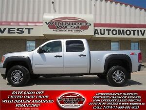 2014 GMC SIERRA 2500HD SLE CREW Z71 OFF ROAD, 6.0 L V8, HEAVY DU
