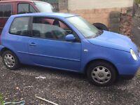 Volkswagen 2001 lupo's automatic 3 door hatchback petrol 1390cc