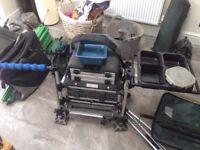 Milo 1200 match fishing box fully loaded