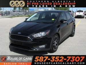 2017 Ford Focus SEL / Back Up Camera / Heated Seats