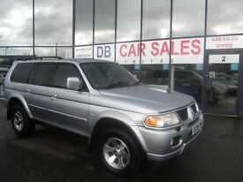 2006 56 MITSUBISHI SHOGUN SPORT 2.5 TROJAN 5D 114 BHP***GUARANTEED FINANCE***PART EX WELCOME***