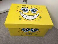 Spongebob box & DVDs