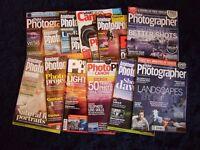 15 Camera Magazines Various Titles Canon Nikon Sony