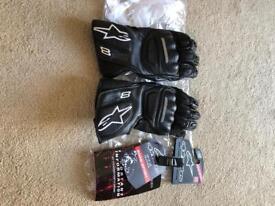 Alpinestars SP8 gloves medium