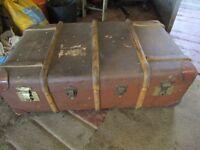 Vintage Cabin Trunk