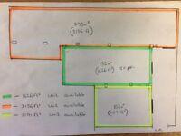 1600 square foot SECURE unit AVAILABLE £850.00 + vat PCM