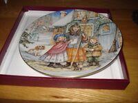 Royal Worcester Decorative Plates (six)