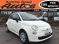 2010 FIAT 500 POP 1.2 ** LOW MILES ** FINANCE AVAILABLE WITH NO DEPOSIT **