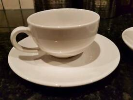 Churchil UK super Vitrified Cups and Saucers