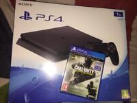 playstation 4 slim 1tb ps4 console (mint)
