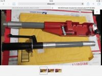 Used hilti exstention pole and gun if required, with NO mechanical problems