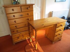 Chest of Drawers & Dressing Table (will sell separately)