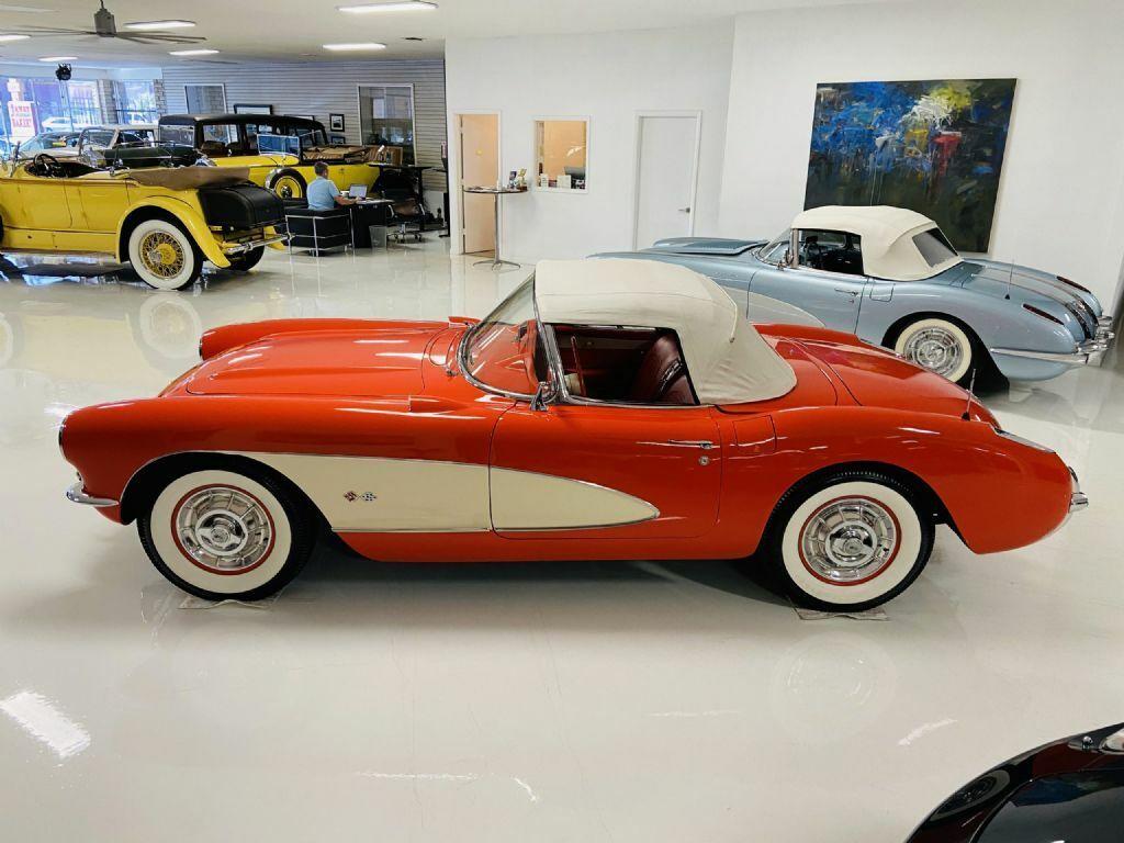 1957 Red Chevrolet Corvette     C1 Corvette Photo 5