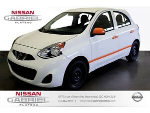 2015 Nissan Micra AIR CLIMATISÉ+REGULATEUR VITESSE