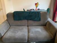 Next grey sofa.