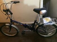 Folding bike brand new never been used
