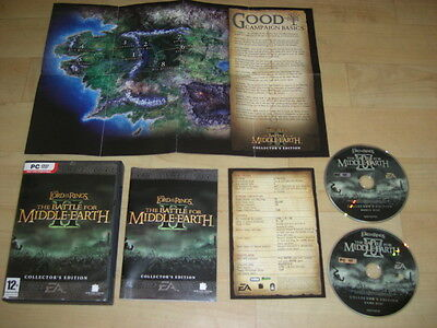 LOTR - THE BATTLE FOR MIDDLE EARTH II 2 COLLECTOR'S EDITION Pc DVD Rom FAST