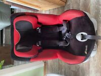 Hauck Varioguard Isofix Child Car Seat - Red , 9-18 kg