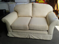 Laura Ashley single sofa bed (delivery available)