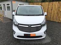 2015 VAUXHALL VIVARO SPORTIVE 2900 LONG WHEEL BASE 3 Seater van (transit transporter traffic caddy)