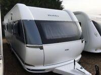 Hobby Caravan 650 Wfu Prestige (2015/16) Full Size Shower room. Like Tabbert/Fendt