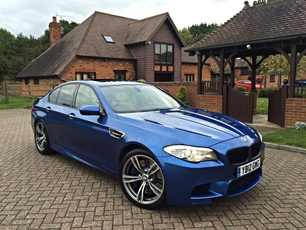 2012 bmw m5 f10 4 4 v8 twinturbo comfort pack monte carlo blue fsh fully loaded spec in. Black Bedroom Furniture Sets. Home Design Ideas