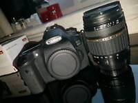 Canon 60d, Tamron 18-200mm lens, Metz flashgun plus loads more