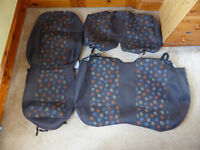 Mercedes Vito Van genuine seat covers, driver and double passenger seats, excellent condition, £20