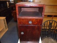small bedside cabinet.