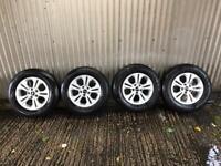 """Genuine 16"""" Kia Sportage Alloy wheels - 5x114.3"""