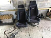 Ford Escort RS Recaro seats