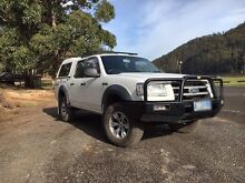 2009 Manual Ford Ranger PJ Dcab 4x4 Canopy Ute Deloraine Meander Valley Preview