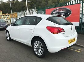 2012 (12 reg) Vauxhall Astra 1.7 CDTi 16v Active 5dr Low Miles 6 Speed Manual