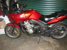 RED Honda CBF600 SA-8 Combined ABS, Heated Grips