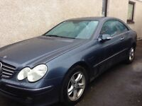 RARE 6 SPEED MANUAL MERCEDES CLK 240 COUPE