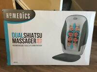 Dual Shiatsu Massager With Heat