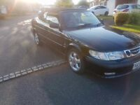 Saab 93 2.0litre turbo petrol automatic convertible