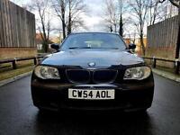 BMW 1 SERIES 116i SE IN BLACK LOW MILEAGE