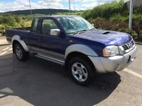 2004 Nissan Navara King cab excellent runner and driver