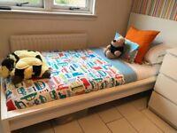 Single Malm bed