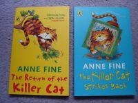 Anne Fine - Killer Cat Books