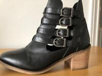 Leather Firetrap boots- size 6