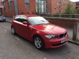 Red BMW 1 Series 116i 3dr